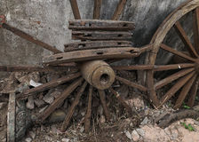 The old wheels Royalty Free Stock Images