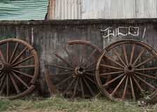 The old wheels Royalty Free Stock Photography