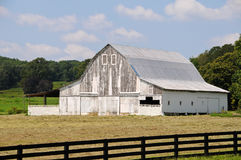 Old White Barn Royalty Free Stock Image