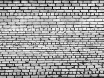 Old white and black brick wall. 