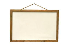 Old white board Stock Image