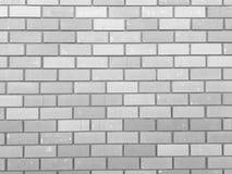 Old gray brick fence background. stock photo