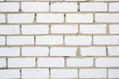 Old white brick wall Royalty Free Stock Photography