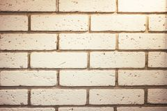 Old white brick wall stock photos