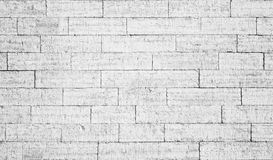 Old White Brick Wall Royalty Free Stock Image