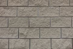 Old white brick wall background texture close up stock photo