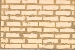Old white brick Stock Images