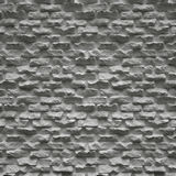 Old White Brick Wall Stock Photography
