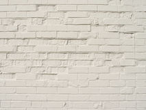 An Old White Brick Wall Stock Photos