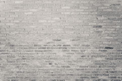 Old white brick wall texture as background Royalty Free Stock Photos