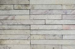 Old white brick wall texture for background royalty free stock photography