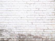 Old white brick wall texture for background Ready for product di royalty free stock image