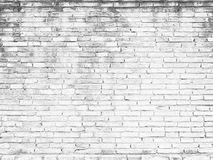 Old white brick wall Texture Design. Empty white brick Background for Presentations and Web Design. A Lot of Space for stock image