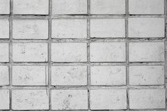 Old white brick wall. Wall cement background. Gray concrete texture. Vintage old white brick wall, great design for any purposes. stock photos