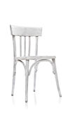 Old White Chair Royalty Free Stock Photo