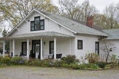 Old White Clapboard Farmhouse Royalty Free Stock Photo