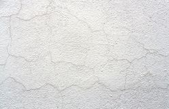Old White Cracked Wall Background Stucco Texture stock photos