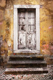 Old White Door Royalty Free Stock Image