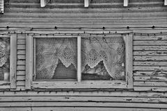 Old White Farm House Window Royalty Free Stock Photography