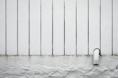 Old white fence background overlay Royalty Free Stock Images