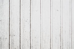 Old white fence. Texture of old wooden fence painted in white Royalty Free Stock Photo