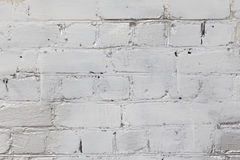 Old white and gray brick wall Stock Photo