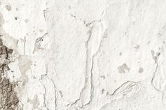 Old white grunge textures backgrounds. White Wall Background royalty free stock photography