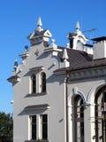 Old white home, Latvia Royalty Free Stock Image