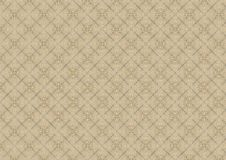 Old White Lace Quilt Pattern stock illustration