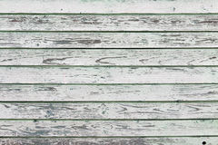 Old white painted wood wall Stock Image