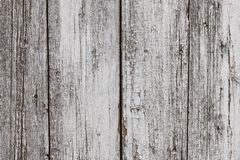 Old white painted wooden cracked flaky fence with hobnail. Grunge wooden rustic texture, floor pattern. Weathered texture, rustic. Background. Old white wooden stock photos