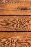 Pinewood Stained Planks - Detail Royalty Free Stock Image