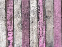 Old white and pink wood texture Royalty Free Stock Image