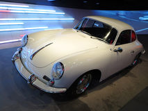 Old White Porsche Car Royalty Free Stock Photo