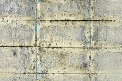 Old White Stone Blocks Wall Background Stock Photos