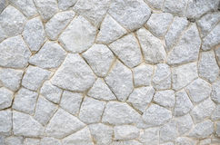 Old white stone wall Stock Photos