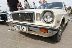Old White Toyota. Royalty Free Stock Image