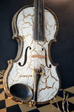 An old violin Stock Image