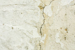 Old white wall Royalty Free Stock Image