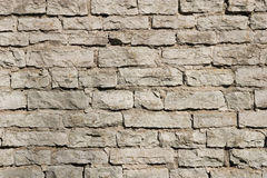 Old white wall Stock Photography