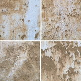 Old white wall background Stock Images