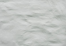 Old white wall stucco texture Stock Photography