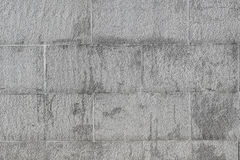 The old white walls with different shades. Royalty Free Stock Photography