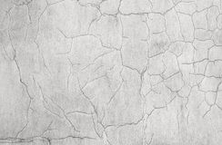 Old white weathered concrete wall texture Stock Image