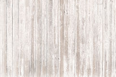 Old white wood background or texture Royalty Free Stock Photos