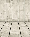 Old white wood crate background Stock Image