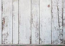 Old White Wood Plank Background. Royalty Free Stock Image