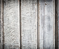 Old white wood plank background Royalty Free Stock Photos