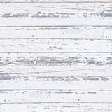 Old white wood plank background. Royalty Free Stock Photography