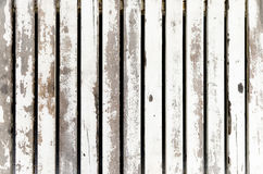 Old white wood texture and background Royalty Free Stock Photo